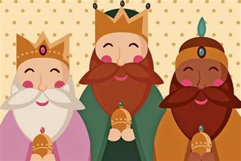imagenes reyes magos niños dibujos de los reyes magos para colorear los mejores
