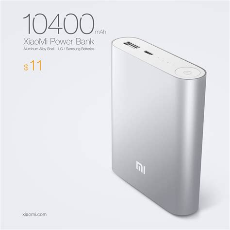 Xiaomi Battery Pack xiaomi s 10 400 mah battery charger costs just 11