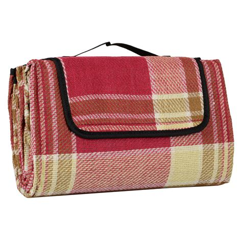 waterproof rug new large 59x51 quot outdoor waterproof picnic blanket mat cing travel rug ebay