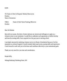 sle of nursing application letter 28 images 9 application letters for 9 free word pdf 10