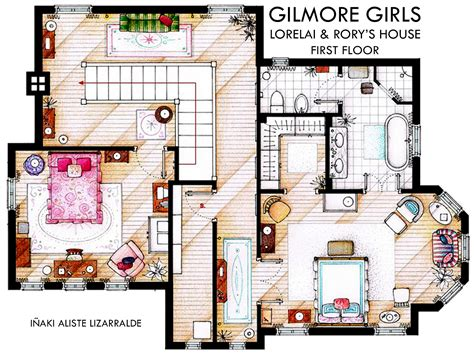 gilmore girls house plan gilmore girls news and random facts dvdbash