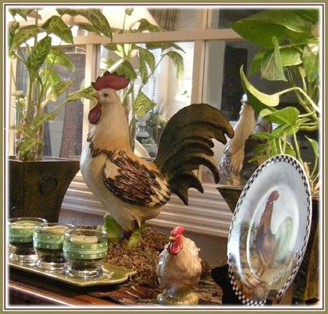 Roosters Decor by Eye For Design Decorating With Roosters For A