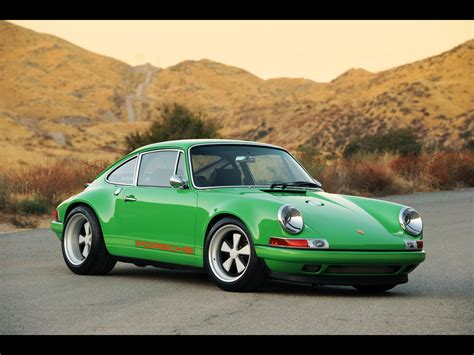 80s porsche wallpaper 2011 singer porsche 911 front and side 2 1280x960