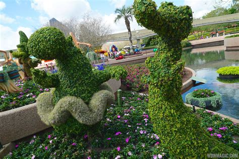 International Flower And Garden Festival 2015 Epcot International Flower And Garden Festival Opening Day Tour Photo 33 Of 74