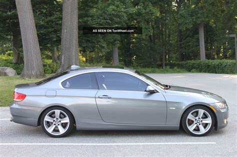 bmw 335i turbo specs 2007 bmw 335i coupe turbo 6 speed manual sport