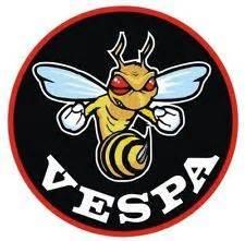 Alte Motorrad Marken Logos by 2x Vespa Piaggio Ferrari Bee Biene Hornet Wasp Aufkleber