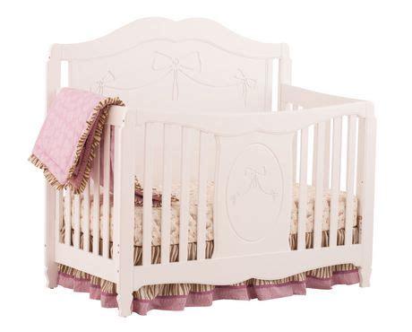 Storkcraft Princess Crib Reviews by Storkcraft Princess 4 In 1 Convertible Crib White Walmart Ca