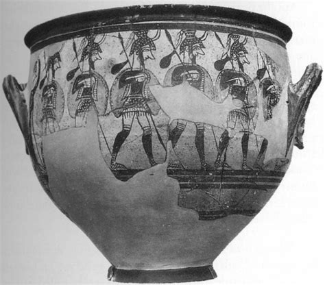 Mycenaean Warrior Vase by 12vase Htm