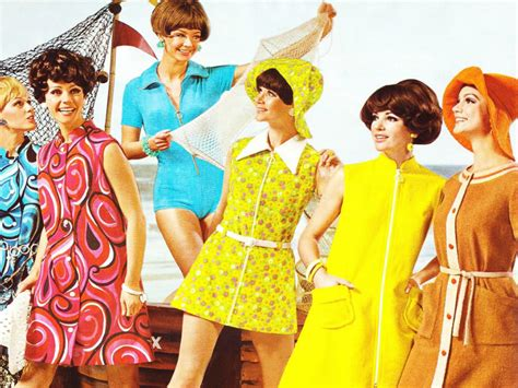 the swinging sixties minis and more female fashion from the swinging sixties