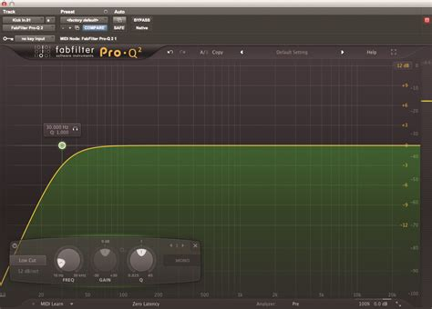 high pass filter eq pro tools tutorial cutting edge production techniques custom channel strips musictech