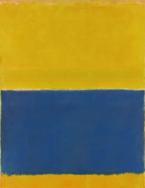 Yellow Paint Sles | sotheby s offering a rothko once owned by bunny mellon