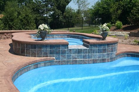 swimming pool tile ideas understanding the different types of pool tiles before
