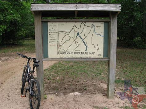 burroughs park field map mountainbiketx trails gulf coast burroughs park