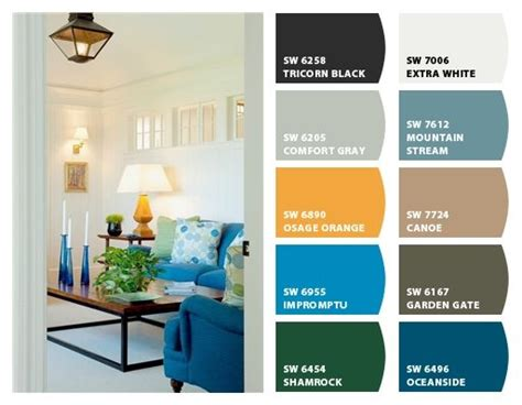 whole house paint colors ranch