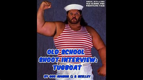 tugboat wwf our shoot interview with tugboat aka typhoon from the wwf