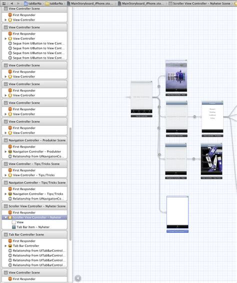 xcode storyboard layout tutorial ios5 xcode 4 2 1 uiscrollviews not scrolling in