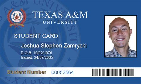 student id template school id cards templates pictures to pin on