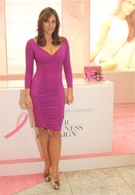 Which Elizabeth Hurley Breast Cancer Pink Frock Is Most Fab elizabeth hurley in tight pink dress at breast