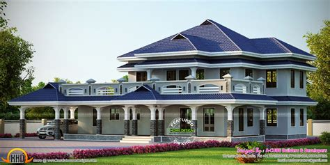 Luxury House Plans With Photos In Kerala Home Design Luxury House Plans Kerala