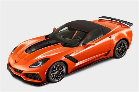 2019 Corvette Zr1 by 2019 Corvette Zr1 Coupe And Convertible Officially