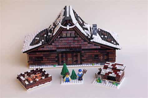 lego farm house and lego barn lego ideas winter farm the family brick