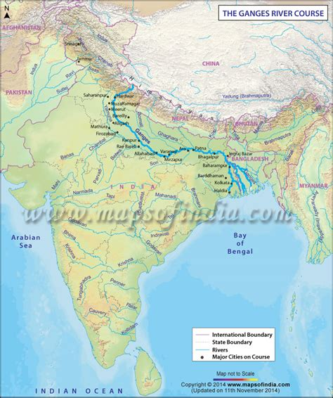 river map ganges map pictures to pin on pinsdaddy
