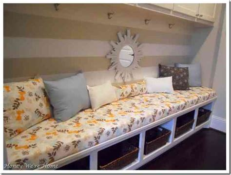 how to sew a bench seat cushion mudroom bench cushion decor ideasdecor ideas