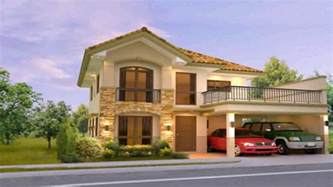 house designs two storey house design with floor plan philippines youtube