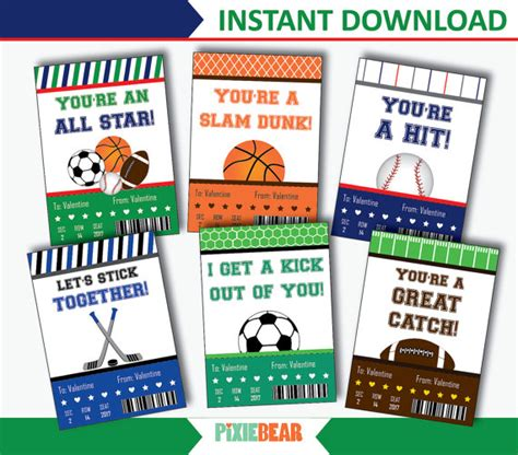 sports valentines cards sports valentines valentines day cards for