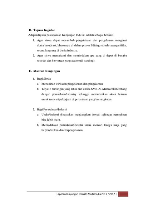contoh laporan yang benar dan lengkap contoh proposal usaha yang baik dan benar teori portal