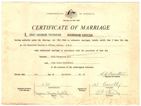 Marriage Records Australia Joan Doris Davis Family History By Clayton Talbot