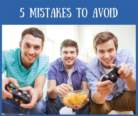 5 Mistakes To Avoid by 5 Mistakes To Avoid With Your