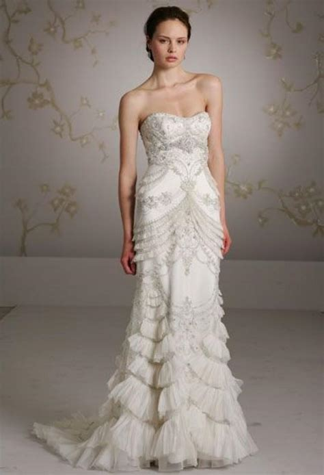 dress lazaro wedding gowns 2047164 weddbook