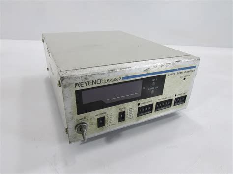 Ge Led Ls by Keyence Corporation Ls 3002 Laser Micrometer Controller