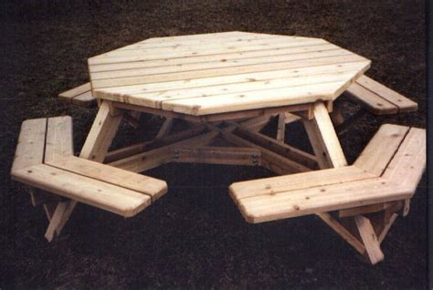 octagon picnic tables plans pdf woodworking
