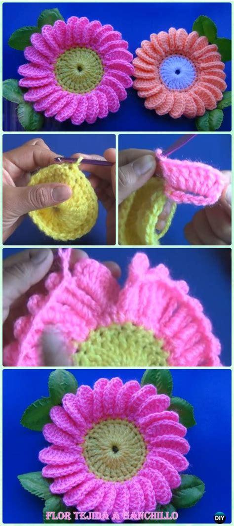 Crochet Flower Motif Pattern Www Imgkid The Image crochet flower motif pattern www imgkid the image