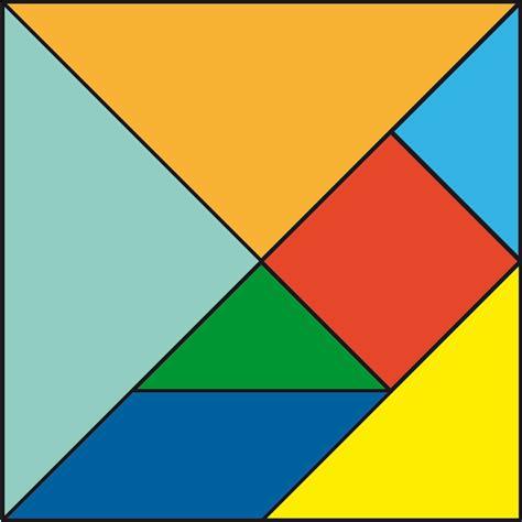 tangram cuadrado mami chips crafts tangram anche per il monello