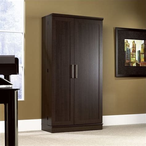 Sauder Homeplus Storage Cabinet with Sauder Homeplus Jumbo Dakota Oak Storage Cabinet