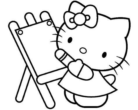 hello painting beautiful coloring page hello coloring pages kidsdrawing free