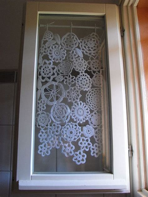crochet curtain panels 17 best ideas about crochet curtains on pinterest