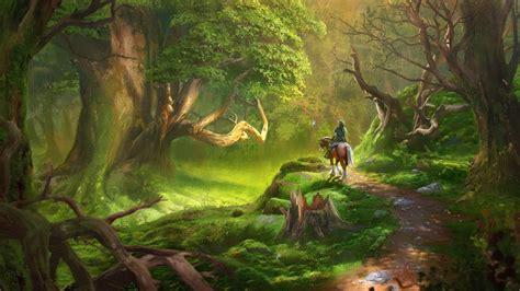 link video games  legend  zelda forest wallpapers