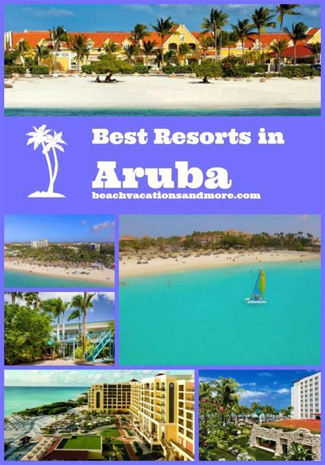 Best Aruba NON All Inclusive Resorts And Hotels In 2019