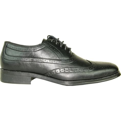 s black classic oxford square toe wingtip dress shoe
