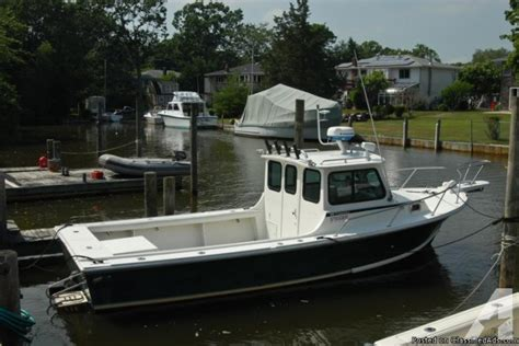 boat steigercraft  chesapeake pilot house  original owner  sale  oakdale