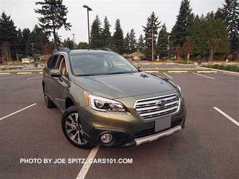 subaru outback 2016 green 2016 outback specs options colors prices photos and more