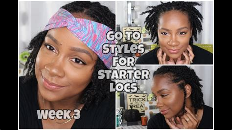 loc style tutorial 8 faux bangs styles youtube loc styles youtube hairstyles for starter locs fade haircut