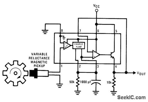 pulse detector circuit diagram pulse rate detector measuring and test circuit circuit