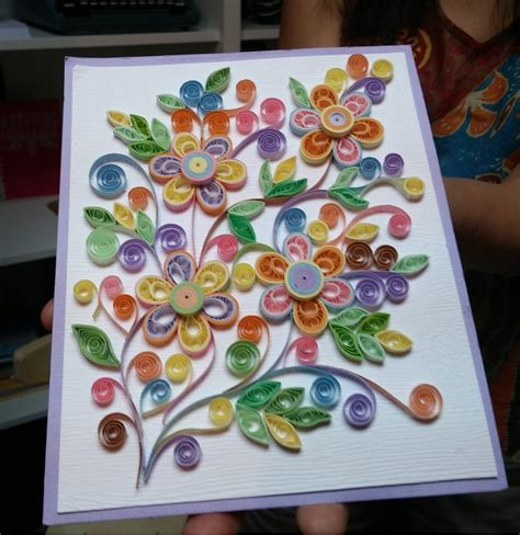 How To Make Quilling Paper Strips - quilling file decoration