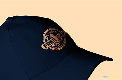 hat design mockup cool free baseball cap mockup zippypixels