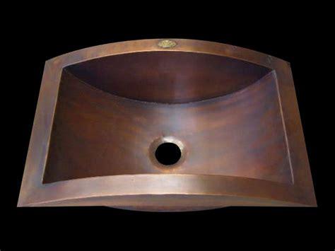 copper bathroom sinks copper spun custom vanity copper